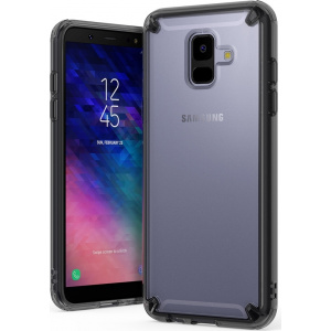 Etui Ringke Fusion Samsung Galaxy A6 2018 Smoke Black