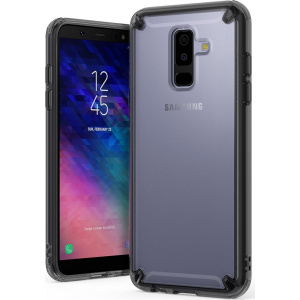 Ringke Fusion Samsung Galaxy A6 Plus 2018 Smoke Black