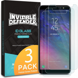 Ringke ID Glass Samsung Galaxy A6 2018 0.33mm 3 Pack