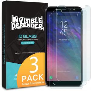 Zestaw szkieł hartowanych Ringke ID Glass Samsung Galaxy A6 2018 0.33mm 3 Pack