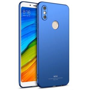 Etui MSVII Xiaomi Redmi Note 5/Redmi Note 5 Pro Blue + Szkło
