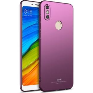 Etui MSVII Xiaomi Redmi Note 5/Redmi Note 5 Pro Purple + Szkło