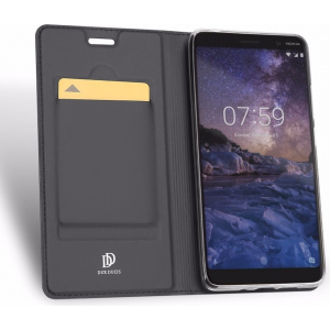 DuxDucis SkinPro Nokia 7 Plus Gray + Screen Protector
