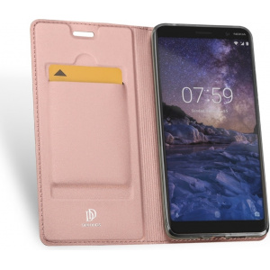 DuxDucis SkinPro Nokia 7 Plus Rose Gold + Screen Protector