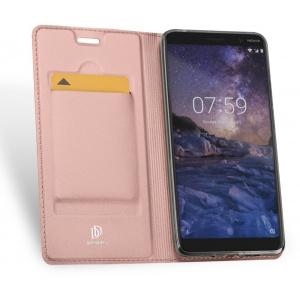 Etui DuxDucis SkinPro Nokia 7 Plus Rose Gold + Szkło