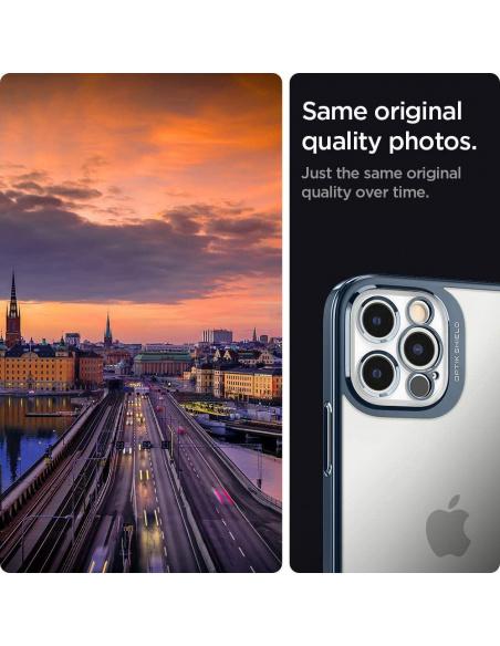 Spigen Optik Crystal Apple iPhone 12 Pro Chrome Pacific
