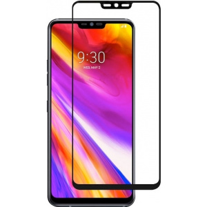 Szkło hartowane Home Screen Glass LG G7 ThinQ 3D Full Cover Black