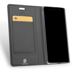 DuxDucis SkinPro Nokia 8 Shirroco Gray + Screen Protector