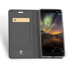 DuxDucis SkinPro Nokia 6 2018 Gray + Screen Protector