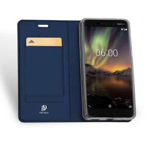 DuxDucis SkinPro Nokia 6 2018 Blue + Screen Protector