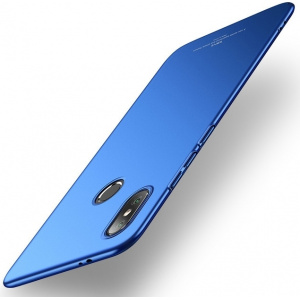 Etui MSVII Xiaomi Mi8 Blue + Szkło