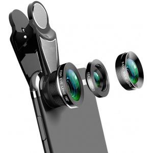 Obiektywy Choetech (szerokokątny, rybie oko i makro)
