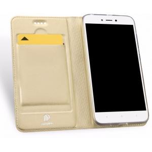 Etui DuxDucis SkinPro Xiaomi Redmi 5A Gold + Szkło