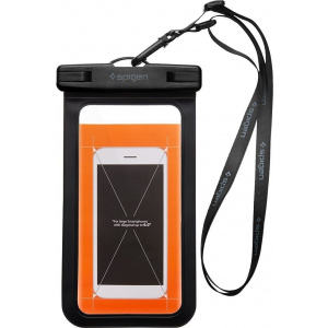 Uniwersalne wodoszczelne etui Spigen A600 Case Black