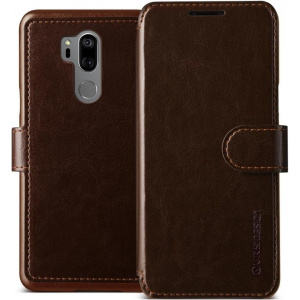 Etui VRS Design Layered Dandy LG G7 ThinQ Brown