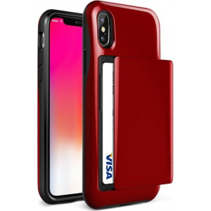 VRS Design Damda Glide iPhone X Red