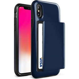 VRS Design Damda Glide iPhone X Blue
