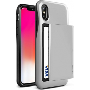 VRS Design Damda Glide iPhone X Satin Silver