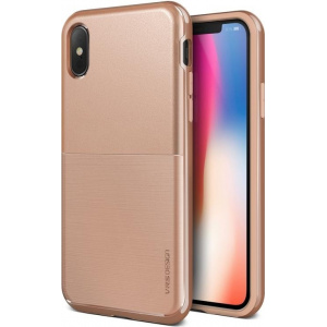 VRS Design High Pro Shield iPhone X Blush Gold S