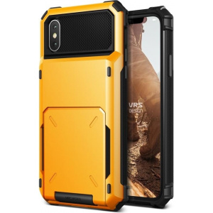 VRS Design Damda Folder iPhone X Volcano Yellow