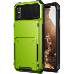 VRS Design Damda Folder iPhone X Line Green