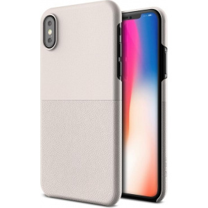 VRS Design Skin Fit iPhone X Light Pebble