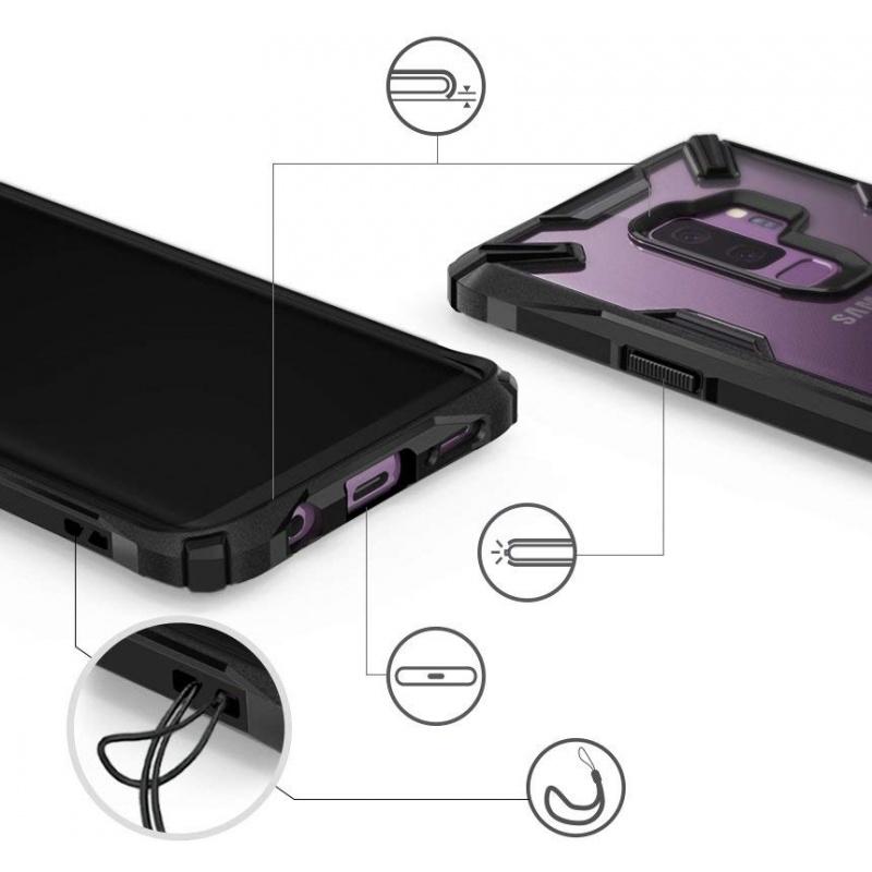 Etui Ringke Fusion-X Samsung Galaxy S9 Plus Black