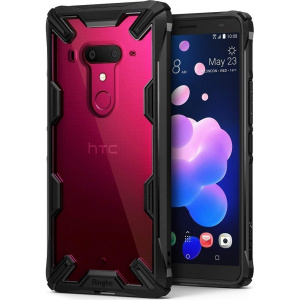 Ringke Fusion-X HTC U12 Plus Black