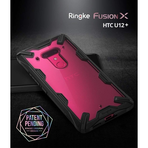 Etui Ringke Fusion-X HTC U12 Plus Black