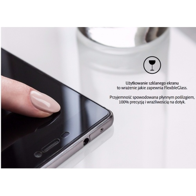 Szkło Hybrydowe 3mk Flexible Glass OnePlus 5T