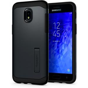 Etui Spigen Slim Armor Samsung Galaxy J3 Metal Slate