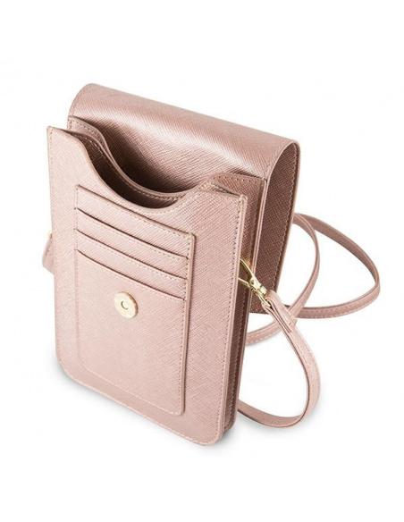 Guess Bag GUWBSSAPI pink Saffiano