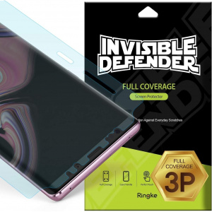 Ringke Invisible Defender Samsung Galaxy Note 9 Case Friendly