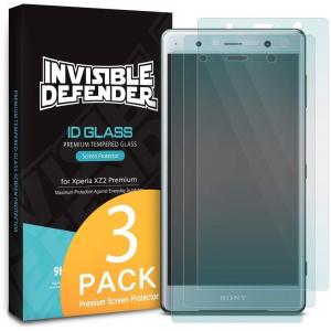 Zestaw szkieł hartowanych Ringke ID Glass Sony Xperia XZ2 Premium 0.33mm 3 Pack