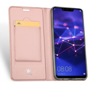 DuxDucis SkinPro Huawei Mate 20 Lite Rose Gold + Tempered Glass