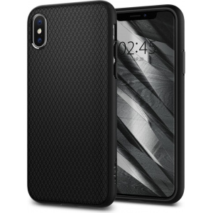 Etui Spigen Liquid Air Apple iPhone XS Black