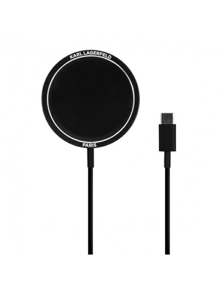 Karl Lagerfeld Wireless Charger KLCBMSIKBK 15W MagSafe