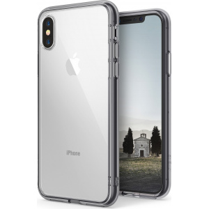 Etui Ringke Fusion iPhone XS 5.8 Smoke Black