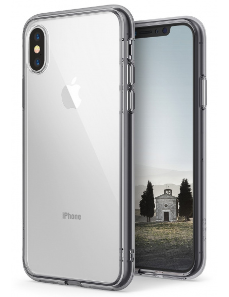 Etui Ringke Fusion iPhone XS/X 5.8 Smoke Black