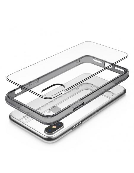 Etui Ringke Fusion iPhone XS 5.8 Smoke Black