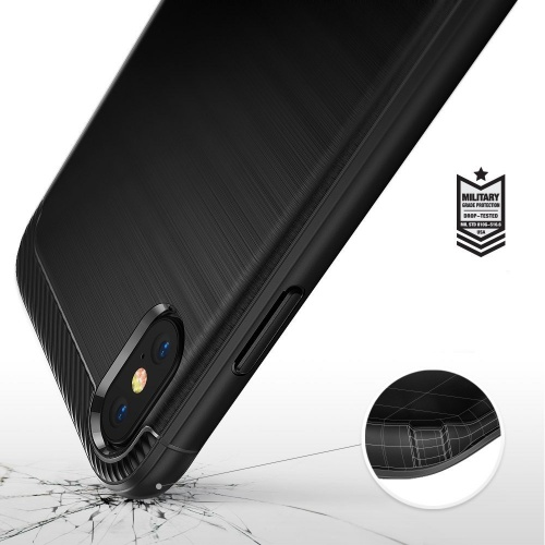 Etui Ringke Onyx iPhone XS 5.8 Black