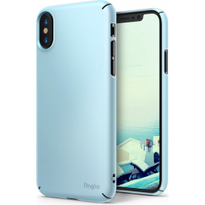 Etui Ringke Slim iPhone X Sky Blue