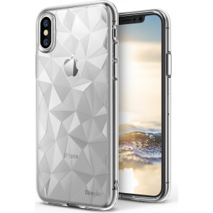 Etui Ringke Air Prism iPhone XS/X Clear