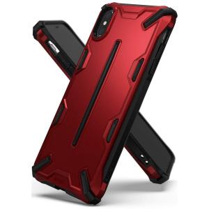 Etui Ringke Dual-X iPhone XS/X 5.8 Iron Red