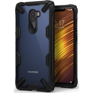 Etui Ringke Fusion-X Pocophone F1 Black
