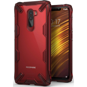 Ringke Fusion-X Pocophone F1 Ruby Red