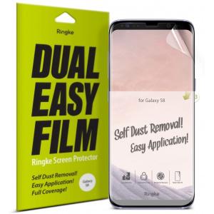 Folia Ringke Dual Easy Full Cover Samsung Galaxy S8 Case Friendly