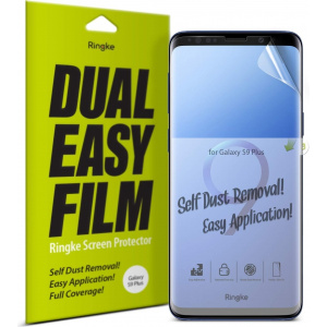 Folia Ringke Dual Easy Full Cover Samsung Galaxy S9 Case Friendly