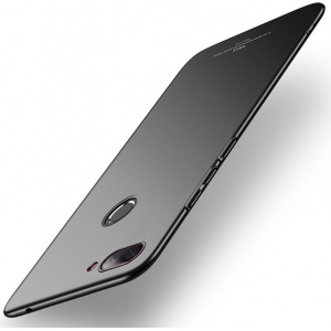 Etui MSVII Xiaomi Mi8 Lite Black + Szkło