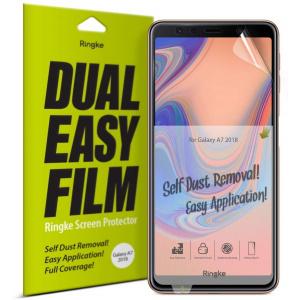 Folia Ringke Dual Easy Full Cover Samsung Galaxy A7 2018 Case Friendly